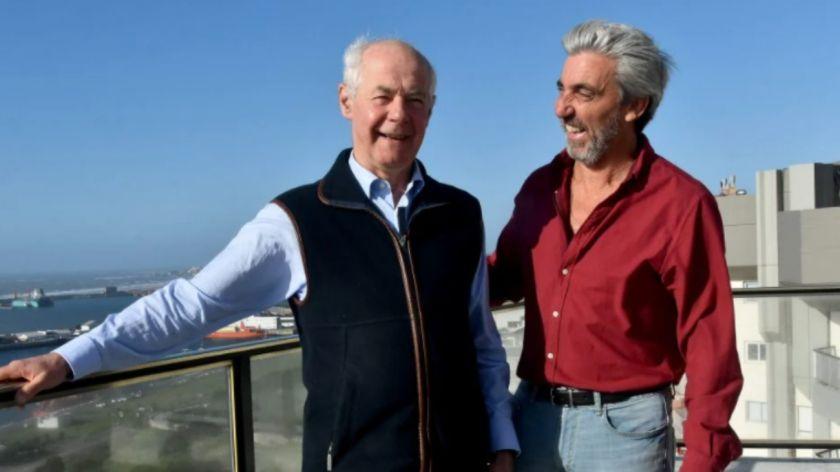 Julio Aro y Geoffrey Cardozo, los excombatientes nominados al Premio Nobel de la Paz.