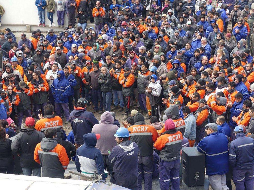 La Intersindical tomaba la vía judicial a inicios de 2019 para 'defender YCRT'. FOTO: ARCHIVO.