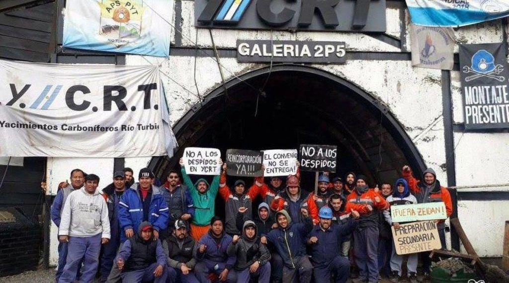 Enero 2019. La Intersindical estimó que se perdieron unos 800 puestos de trabajo en YCRT. FOTO: ARCHIVO