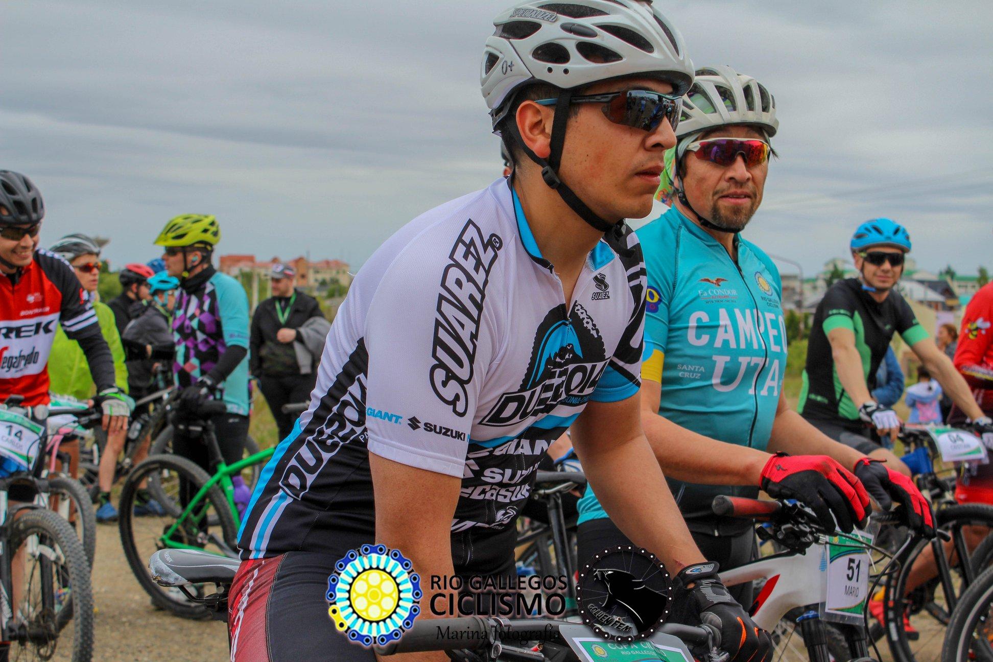 Copa Ciudad 2019. Foto Asociación de Ciclismo Rio Gallegos
