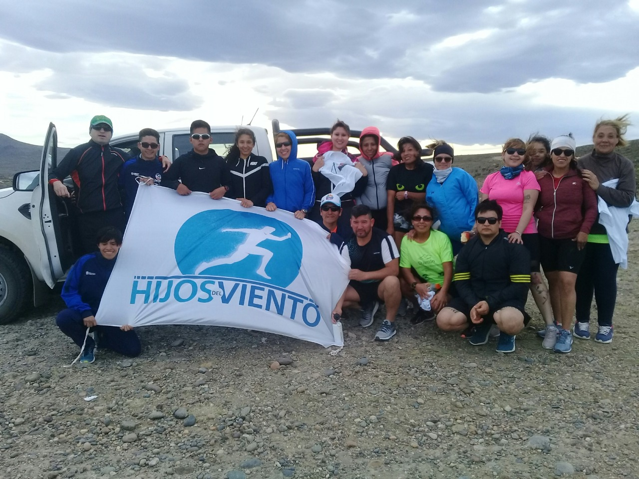 Primer campeonato de Duatlon que organizó Hijos del Viento en el Club Hípico de Las Heras.