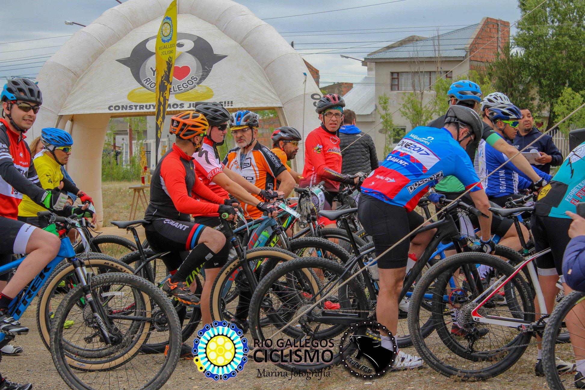 Copa Ciudad 2019. Foto Asociación de Ciclismo Rio Gallegos.