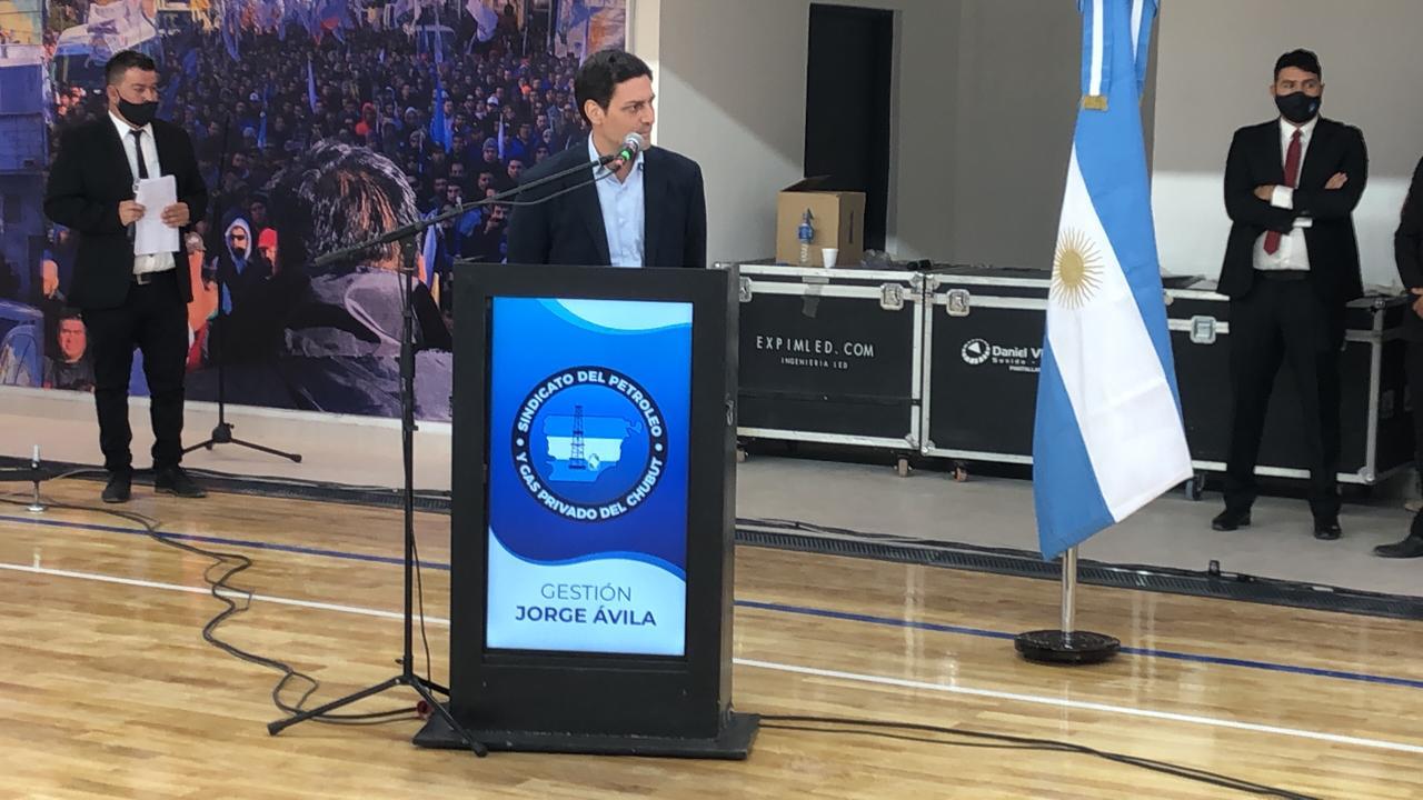 El vicepresidente de PAE, Juan Martín Bulgheroni, destacó el esfuerzo de 'todos' en este año difícil. Foto: Emir Silva /La Opinión Zona Norte
