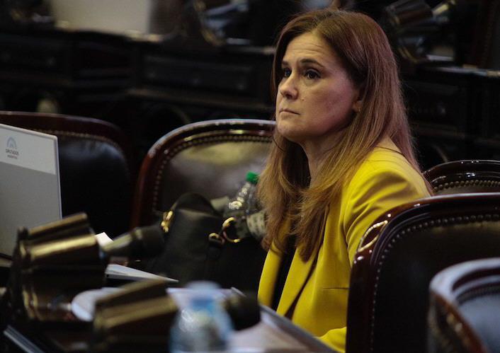 Paola Vessvessian, diputada nacional por el Frente de Todos.