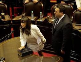Reyes y Carambia votaron en contra el proyecto.