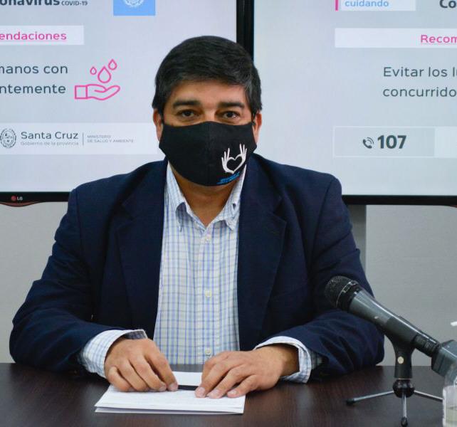 Ministro Claudio García.