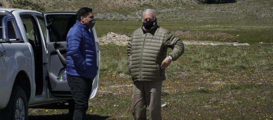 El 7 de diciembre, Chávez y De Urquiza también estuvieron en la zona.