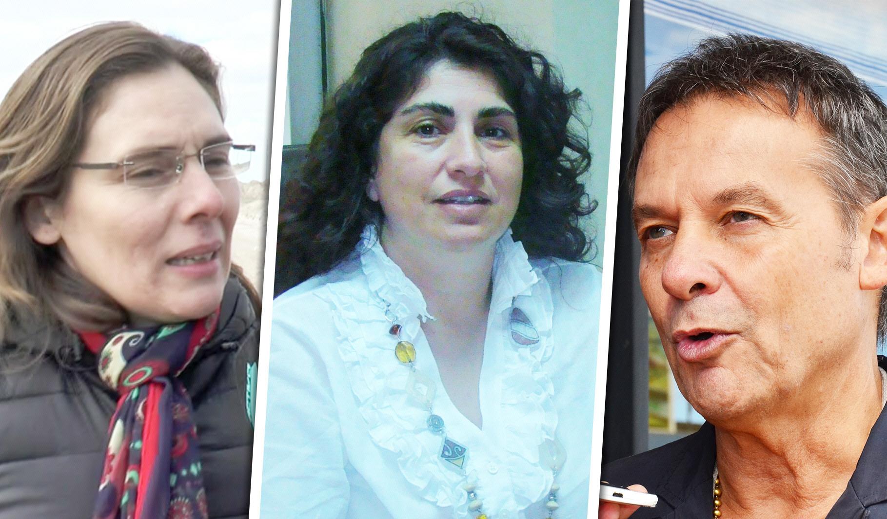 Tapia (Cambiemos), Ianni (Frente de Todos) y Costa (Cambiemos) ya definieron sus votos.