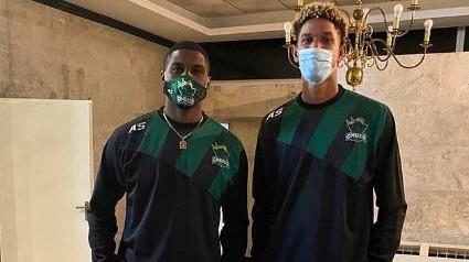 Los cubanos Yoanki Mencia y Pedro Bombino se sumarán al plantel comodorense. FOTO: GIMNASIA