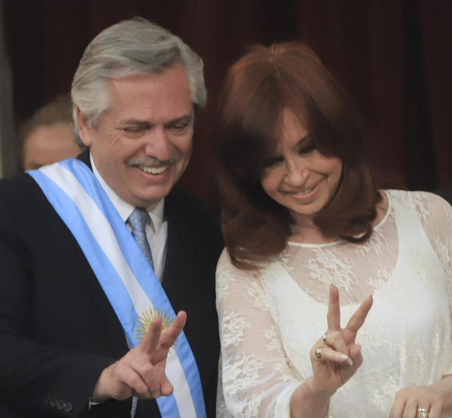 La relación entre Alberto y Cristina también estuvo presente.