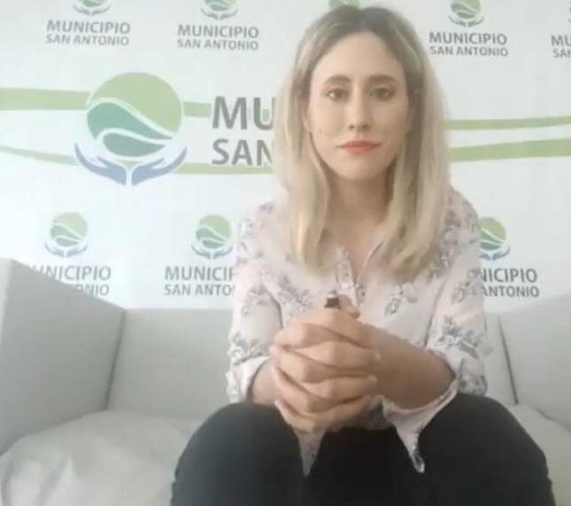 Marisol Martines, titular de Turismo de Las Grutas.
