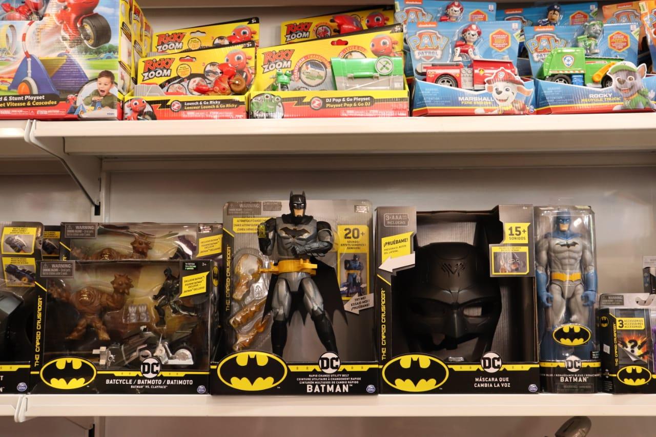 El muñequito de Batman. FOTO: JOSÉ SILVA / RÍO GALLEGOS