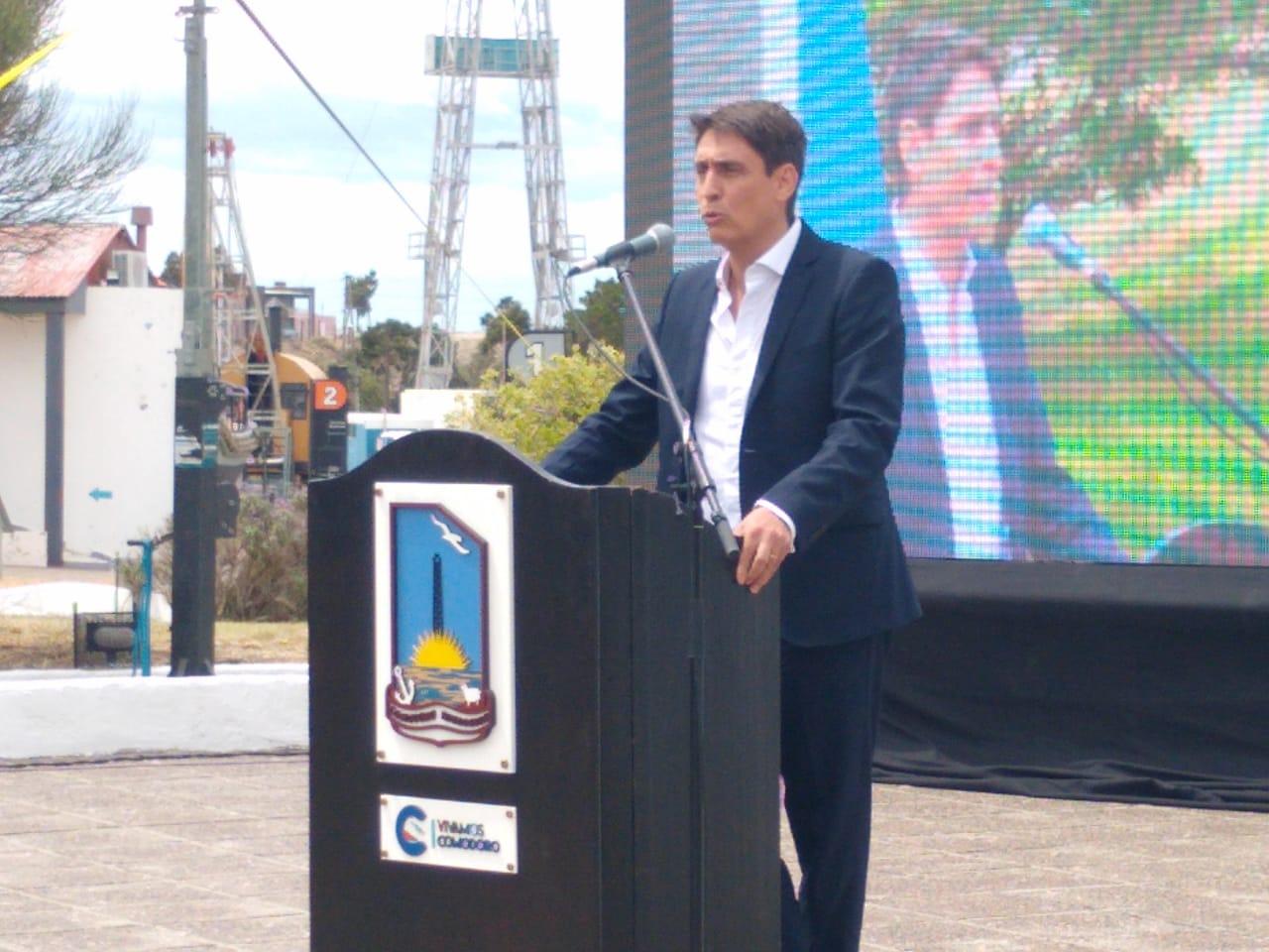 Sergio Affronti, CEO de YPF en el Día del Petróleo en Comodoro Rivadavia - 13/12/2020