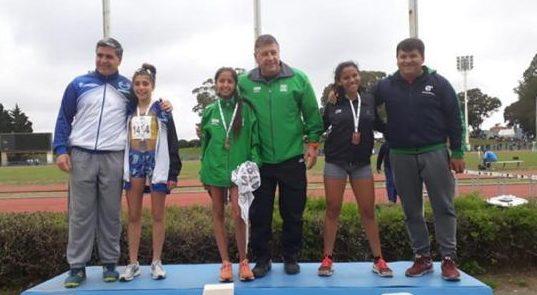 Juegos Evita 2018: Segundo lugar de Agustina en los 800 metros.