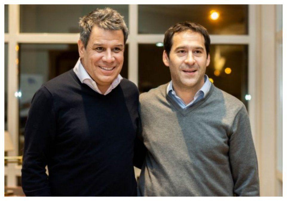 En diciembre, a pocos días de haber asumido como intendente, Juan Pablo Luque avanzaba con Facundo Manes para instalar un centro de neurociencia.