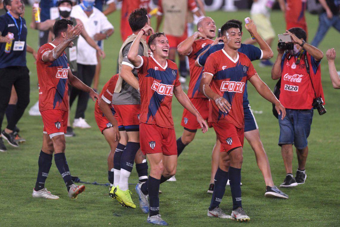 ¡Festejo en el Libertadores de América!