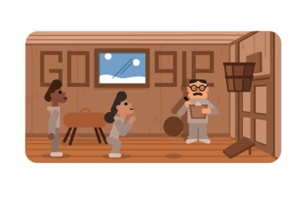 El doodle de Google que homenajea a James Naismith