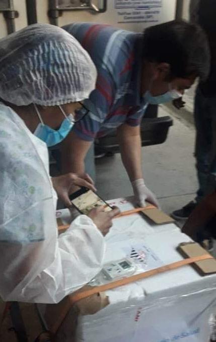 En Las Heras ya se vacunó al personal.
