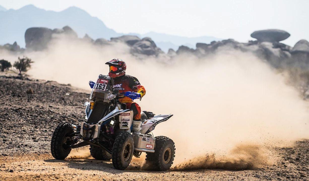 El lunes, Copetti se impuso en la segunda etapa.