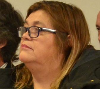 Iris Jovita Vivar, abogada penalista que representa a la víctima. FOTO: JOSÉ SILVA/LA OPINIÓN AUSTRAL