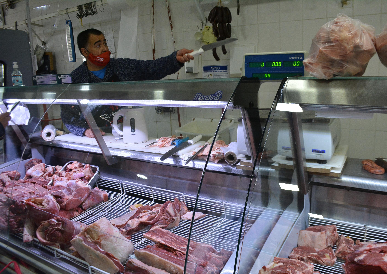 Carniceros locales destacan el repunte en las fiestas de Fin de Año. FOTO: MIRTA VELÁSQUEZ/LA OPINIÓN AUSTRAL