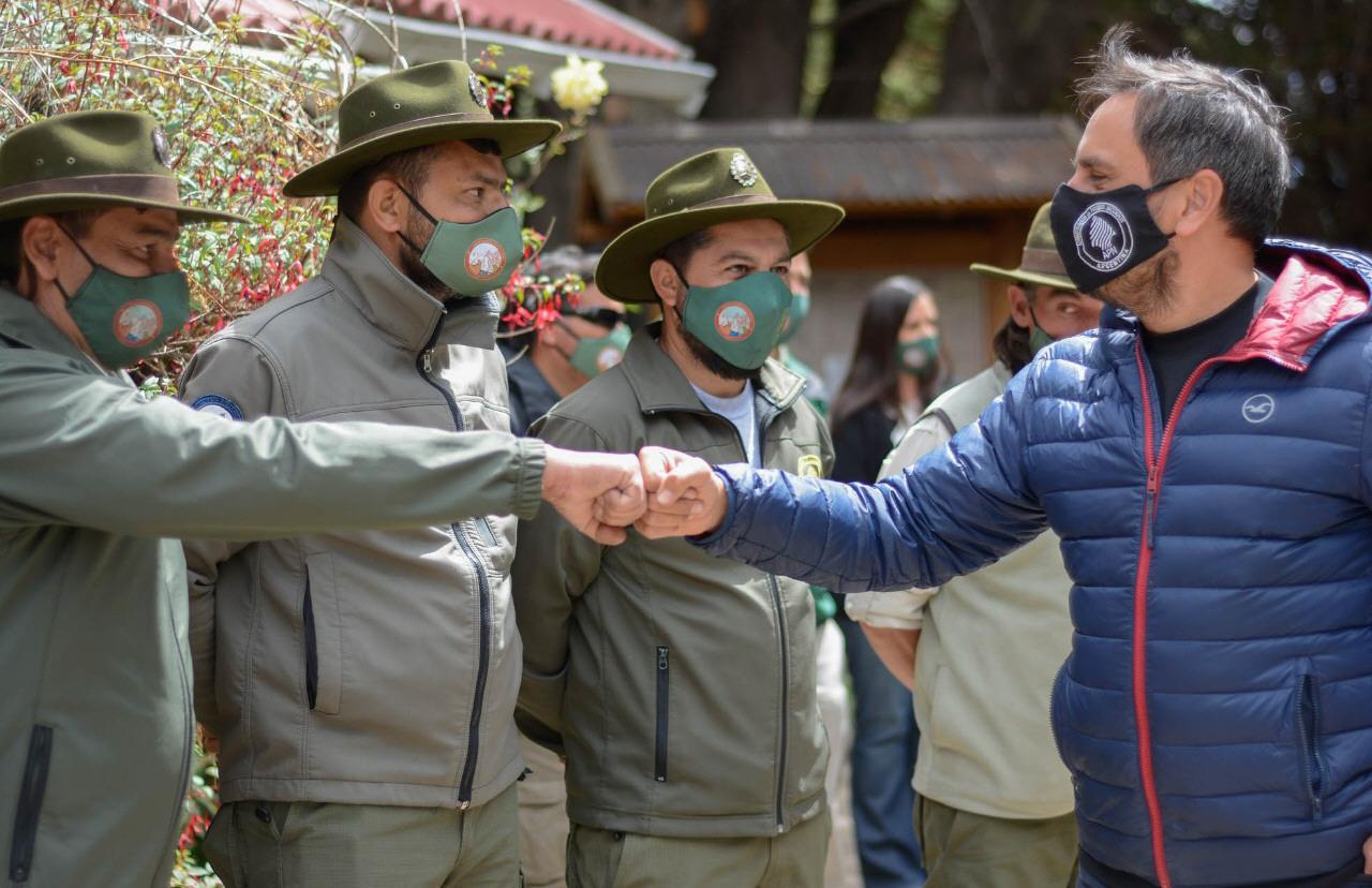 Cabandié anunció el pase a planta de brigadistas de Parques Nacionales.
