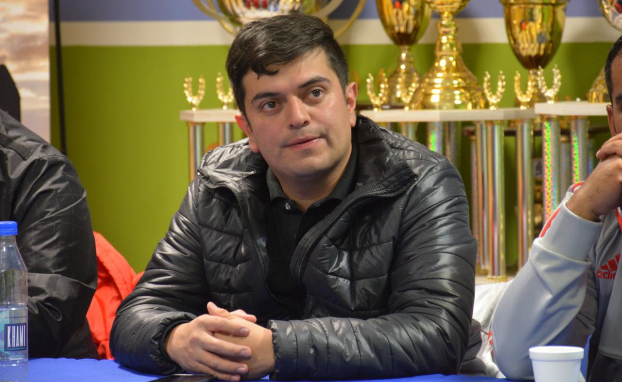 Héctor Cortés, presidente de Juventud Petrolera, donde constantemente organizan acciones solidarias.