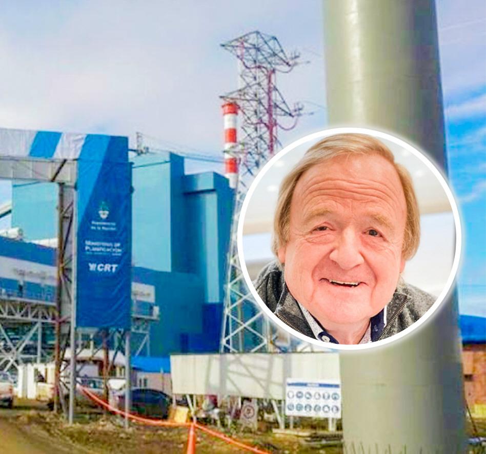 Lucas Gaincerain ratificó que se producirá energía a partir del carbón.