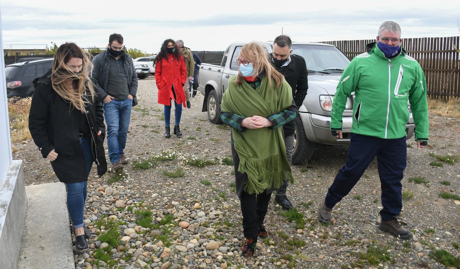 De Izq. a Der. Belén García, Alicia Kirchner, Leonardo Álvarez y Raúl Meló. FOTO: PRENSA DE GOBIERNO