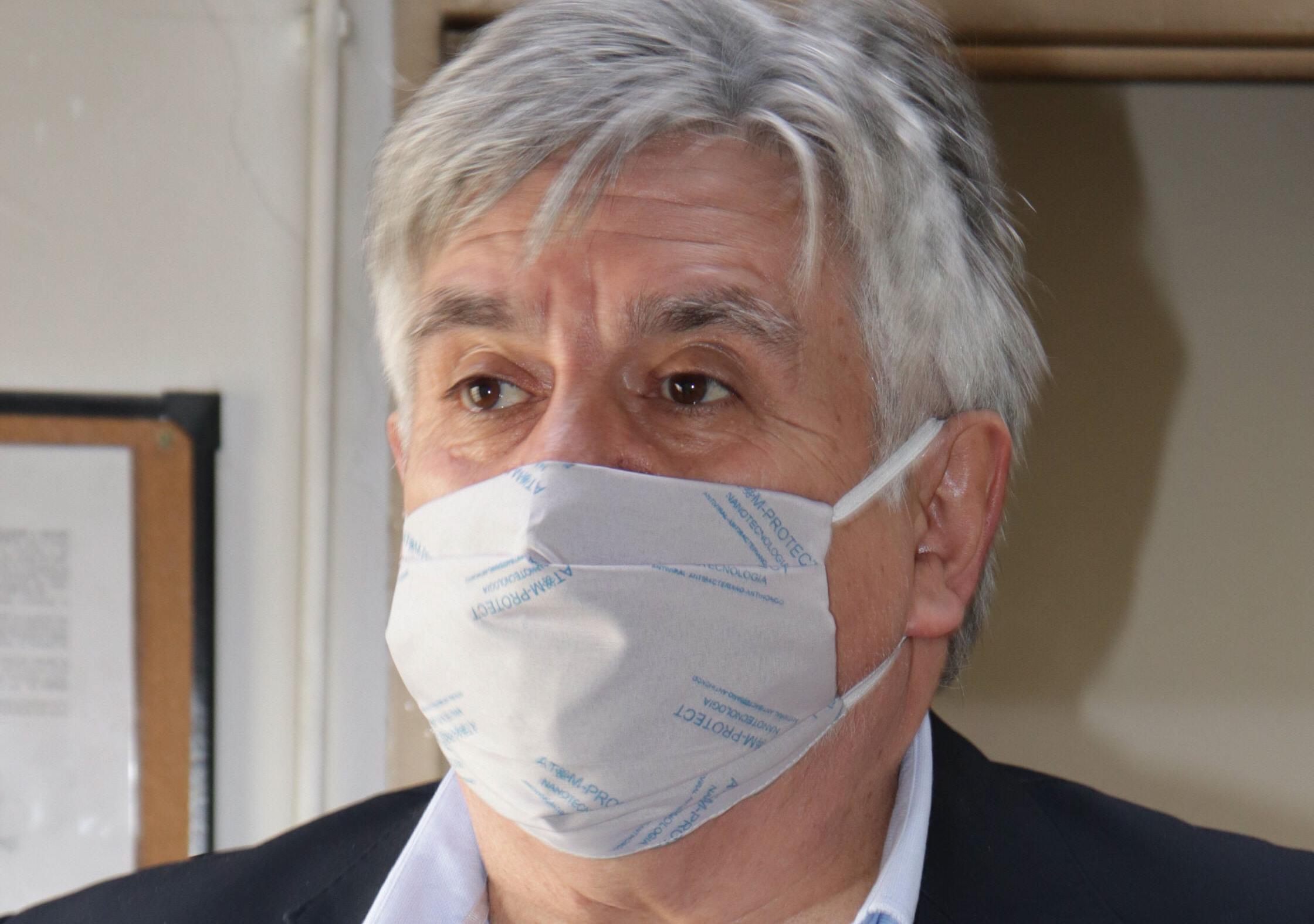 Jorge Cabezas, secretario de Legal y Técnica de la Municipalidad de Río Gallegos.