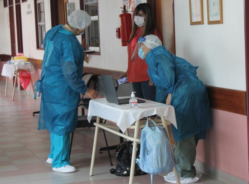 BARBIJO. Fundamental en tiempos de pandemia. Foto: Solange Alarcón/La Opinión Zona Norte