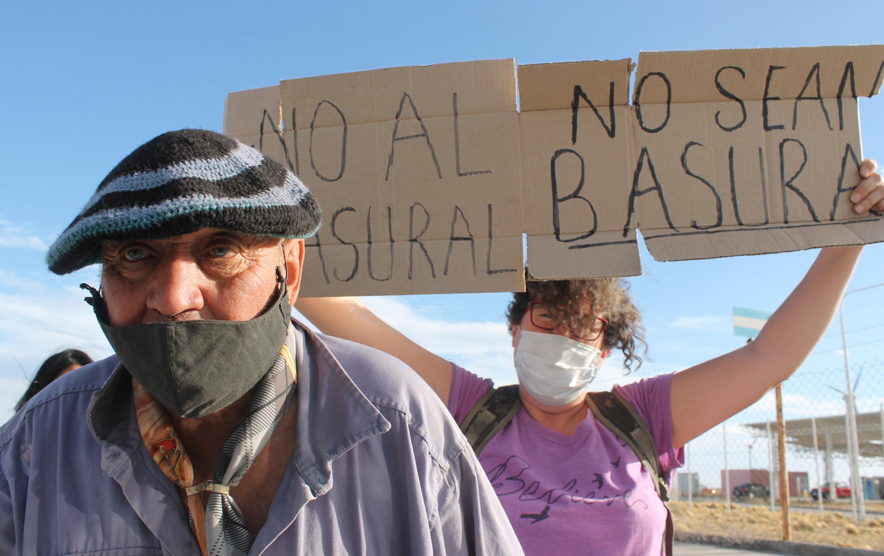 Vecinos de Pico Truncado desaprueban el proyecto. Foto: Solange Alarcón/La Opinión Zona Norte