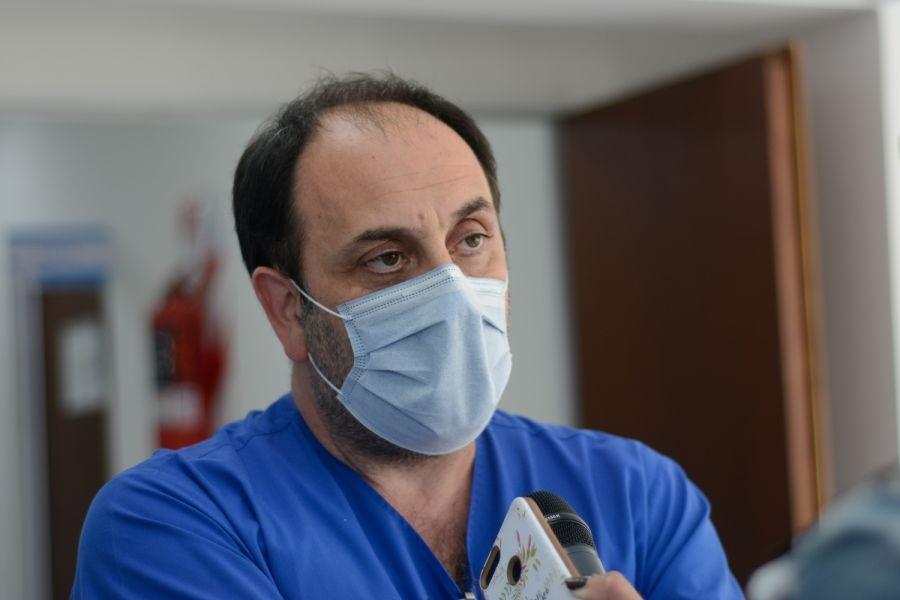 Mauricio Fernández, director asociado del hospital Regional de Río Gallegos