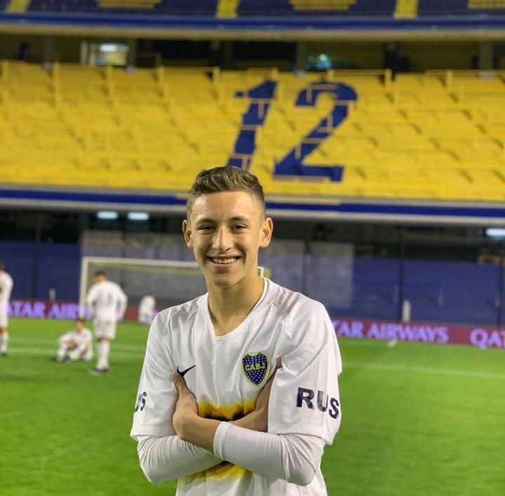 Joaquín, en su paso por Boca en 2019.
