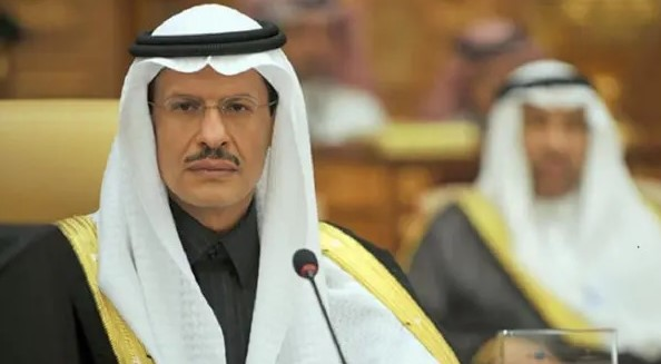 Ministro de Energía de Arabia, el príncipe Abdulaziz bin Salman.
