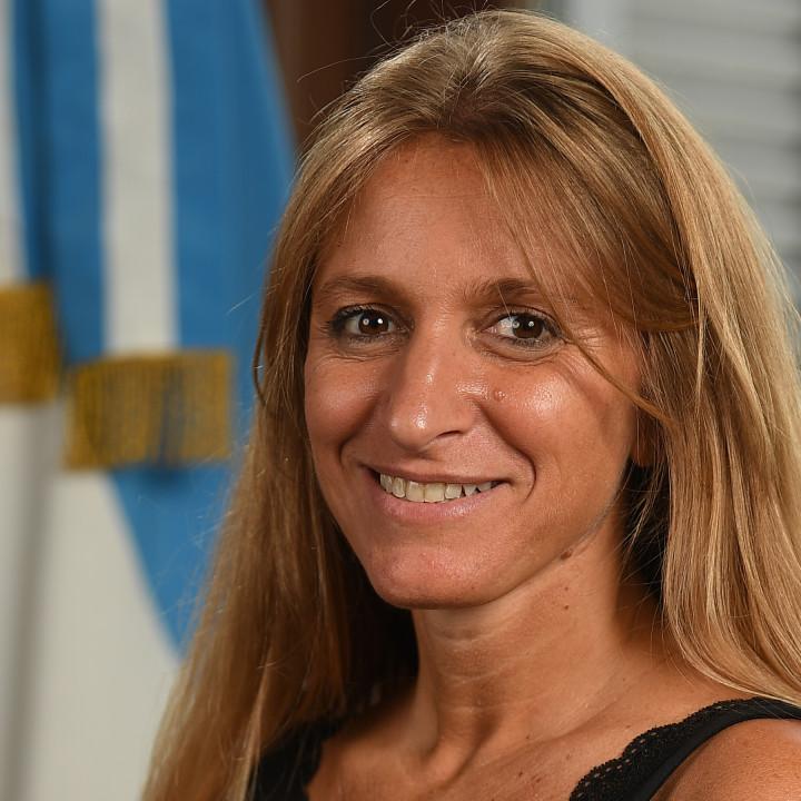 Florencia Carignano, directora general de Migraciones de la Nación.
