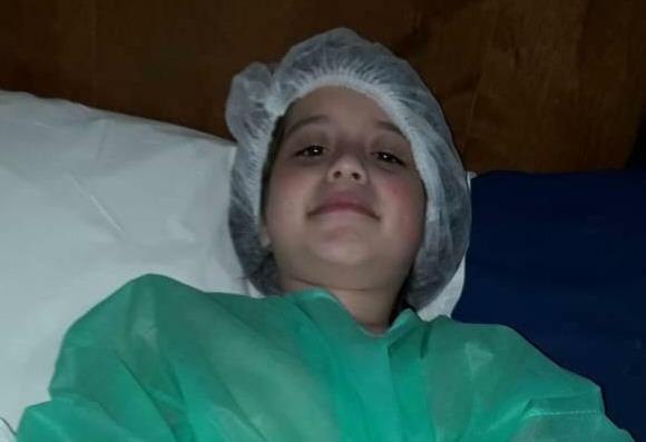 Briza comenzó a ser tratada desde el primer año de vida.