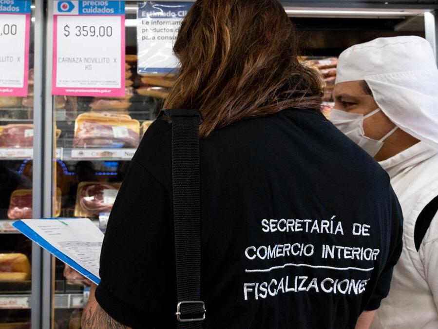 Fiscalizadora de la Secretaría de Comercio Interior en Buenos Aires.