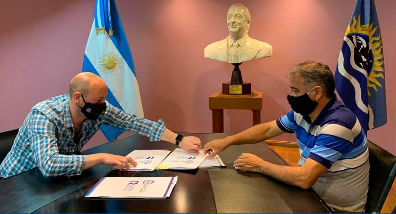 Menna y Depetri debaten sobre la obra pública para Río Turbio.