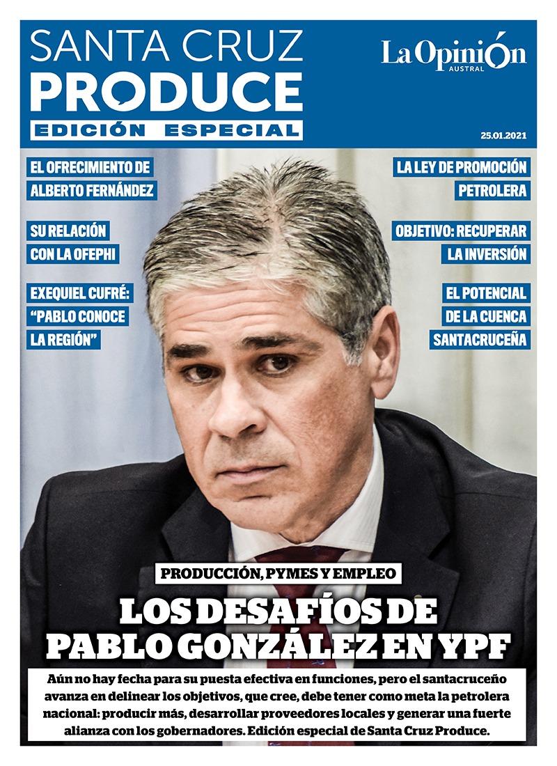 'Los desafíos de Pablo González en YPF'