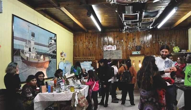 La FLIA, años anteriores, en el edificio de la Asociación Amigos del Tren.