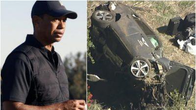 Hospitalizan a Tiger Woods tras un violento accidente automovilístico | La  Opinión Austral