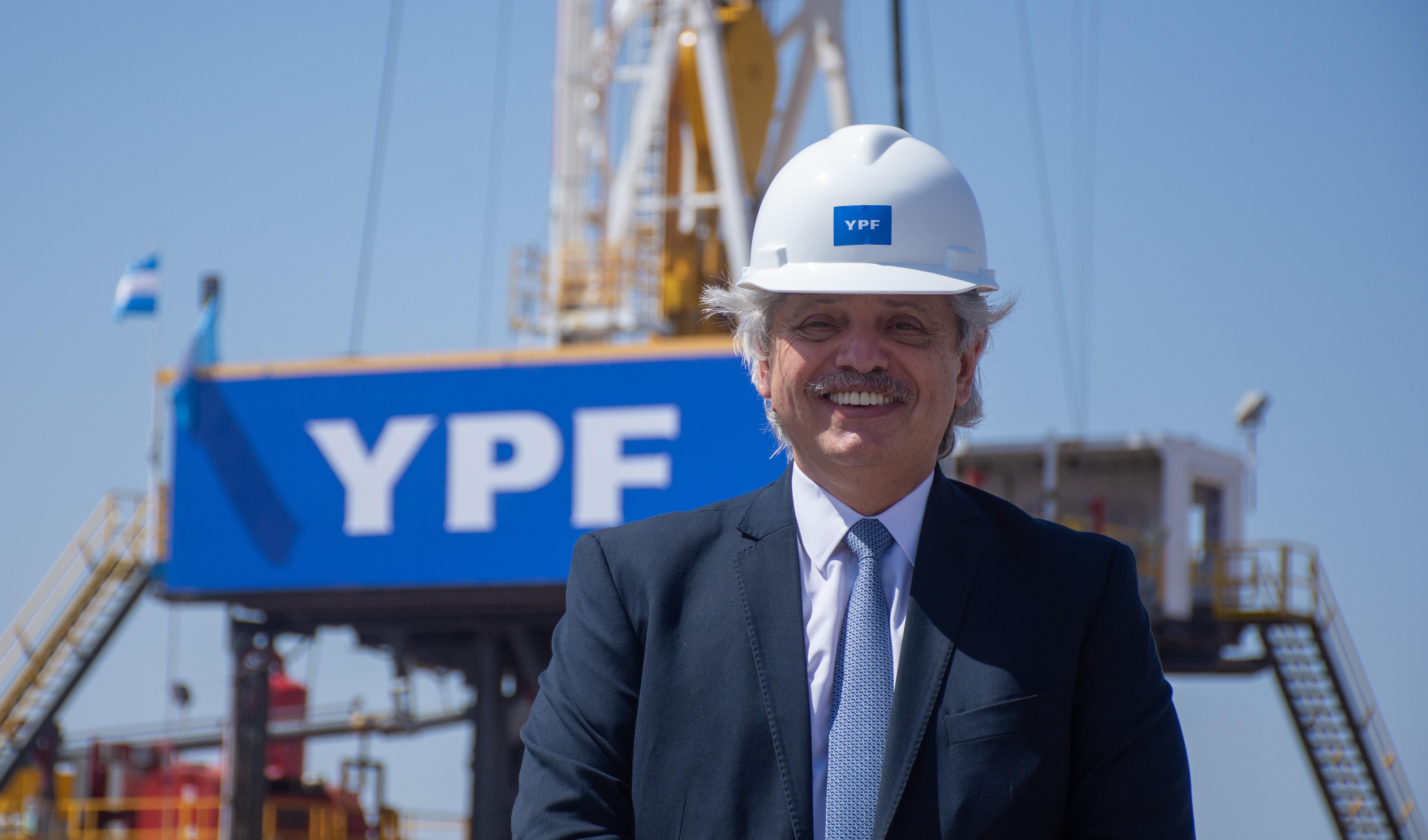 Alberto Fernández está apostando fuertemente a los hidrocarburos.