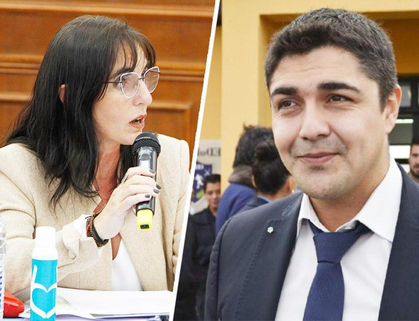 Sabrina Granero y Lisandro De La Torre.