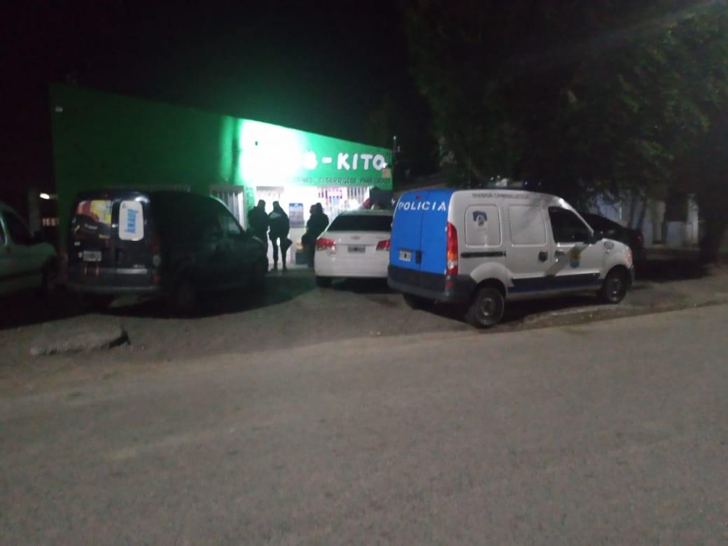 La Policía llegó minutos después, alertada por el empleado asaltado