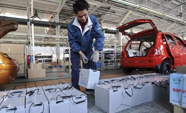 China concentra el 60% de la fabricación de baterías de litio.