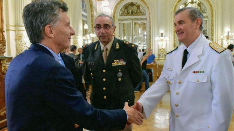 Marcelo Srur junto al expresidente Mauricio Macri.