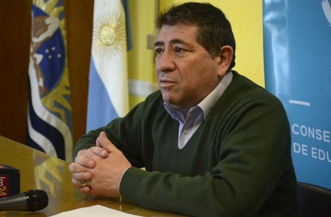 Ismael Enrique, vicepresidente del Consejo Provincial de Educación