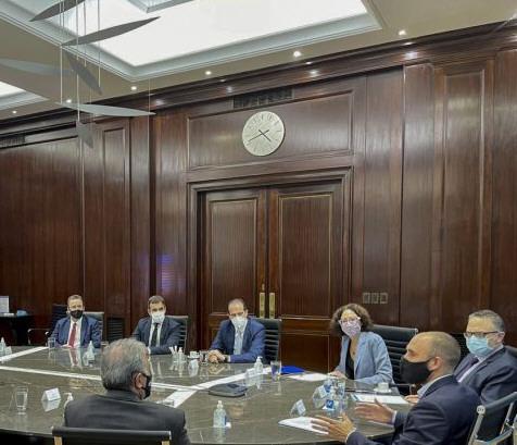 Los ministros Guzmán y Kulfas explicaron el régimen a los empresarios.