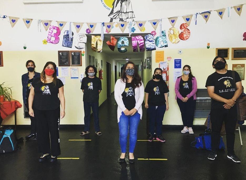 Referentes de la Escuela Provincial de Danzas.